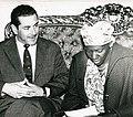 Leonel Brizola e Carolina de Jesus Correio da Manhã 1961.jpg