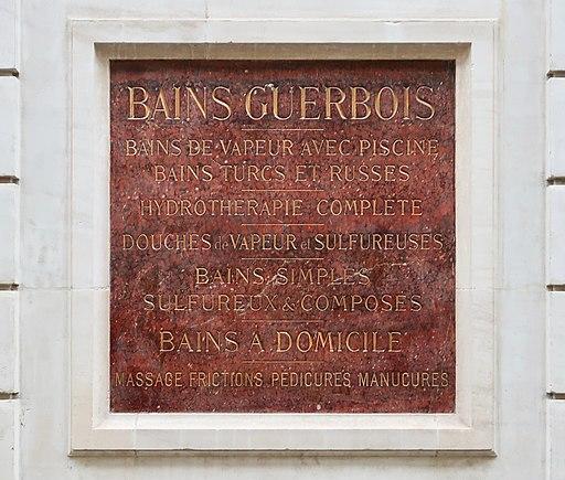 Les Bains Douches, 7 rue du Bourg-l'Abbé, Paris 3e 2