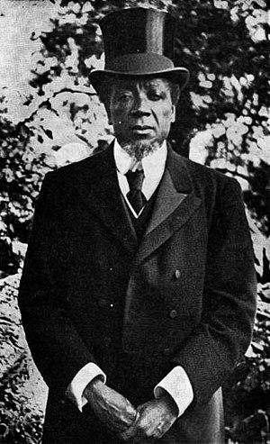Lewanika - Lewanika photographed during his visit to Edinburgh in 1902