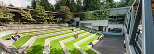Lewis & Clark Law School - LC outdoor amphitheater