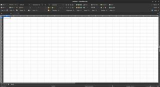 LibreOffice Calc spreadsheet component of LibreOffice