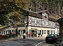 Lichtenhain (Kirnitzschtal) Gasthaus Lichtenhainer Wasserfall (01-2).jpg