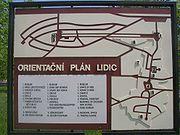 Schematický plán obce