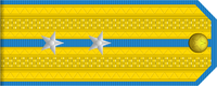 Lieutenant rank insignia (North Korean police).png