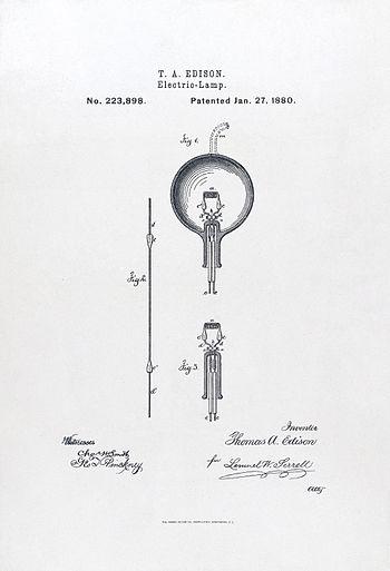 Light bulb Edison 2