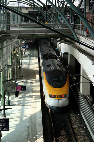 I-Trans cluster - Image: Lille Europe Eurostar
