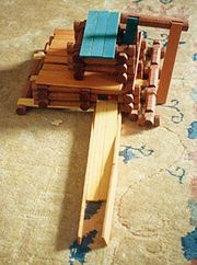 Lincoln Logs have been a popular construction type toy in the U.S. since the 1920s.