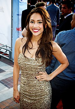Lindsey Morgan, Alma Awards 2012 Red Carpet Arrivals.jpg