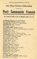 Liste du Parti Communiste de wasquehal en 1953.png
