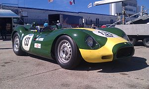 Lister Cars - A Lister Jaguar powered by a 3.4 litre Jaguar D-type XK inline-six