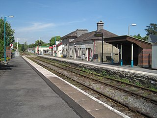 Llandovery railway station Railway station in Carmarthenshire, Wales