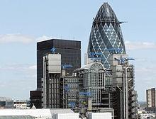 A sede de Lloyd's en Londres