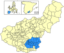 Alpujarra Granadina within Granada