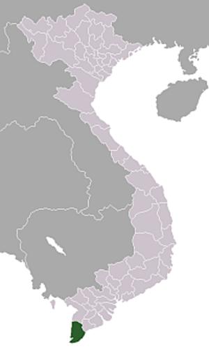 Cà Mau Peninsula - Cà Mau Province