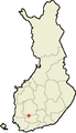 Location of Kylmäkoski in Finland.png