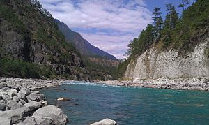 Geography of Arunachal Pradesh - The Lohit River