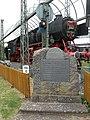Lokomotives monument (ge.Lauda).jpg