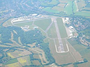 London Biggin Hill Airport - Aerial view of the airport in 2011