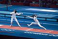 London 2012 Olympics Fencing (7996937616).jpg