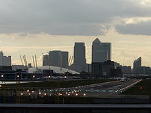 London City Airport at end of runway.jpg