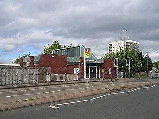 Longbridge railway station Railway station in the West Midlands, England
