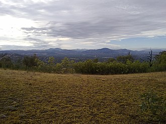 Kambah, Australian Capital Territory - Kambah as viewed from Mount Taylor, to the north