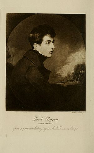 Young Lord Byron