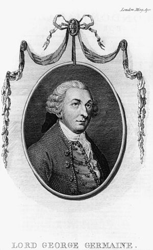 Philadelphia campaign - Lord George Germain