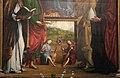 Lorenzo costa, Madonna in trono e santi, 1497, 05.JPG