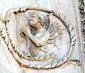 Lorenzo maitani e aiuti, scene bibliche 3 (1320-30) 15 angelo.jpg