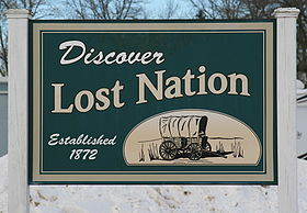Lost Nation Iowa 20090125 Sign.JPG