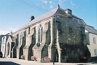 Cornish Assembly - The exchequer hall of the Duchy Palace in Lostwithiel, site of the autonomous Cornish Stannary Courts and then-capital of Cornwall (the Tinners Parliament was last held in the Hall in 1751)