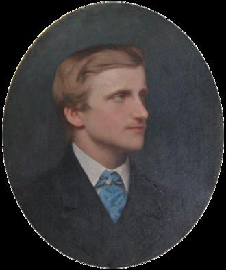 Louis d'Orléans, Prince of Condé - Portrait by Charles Jalabert