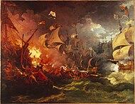 August 6: Battle of Gravelines.