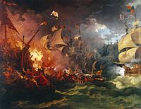 The Spanish Armada: Catholic Spain's attempt to depose Elizabeth and take control of England
