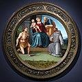 Luca signorelli e bottega, madonna col bambino e santi.JPG