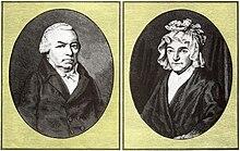Die Eheleute Johann und Maria Magdalena van Beethoven (Zuordnung wohl falsch[1]) (Quelle: Wikimedia)