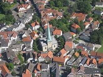 Delbrück - Town centre of Delbrück
