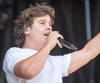 Lukas Graham - Lukas Graham performing at Stavernfestivalen 2016