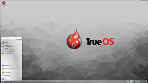 TrueOS - Image: Lumina 1.0.0 True OS