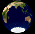 Lunar eclipse from moon-2030Jun15.png