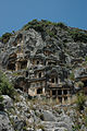 Lycian rock tombs, Myra.jpg