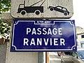 Lyon 8e - Passage Ranvier - Plaque (mai 2019).jpg