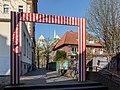 "Münster, Domgasse, Skulptur ""4 Tore"" -- 2020 -- 6447.jpg"