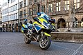 Münster, Lambertikirchplatz, Motorrad -- 2019 -- 3594.jpg