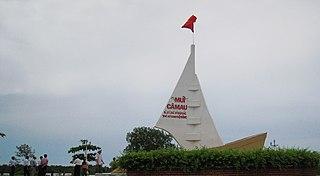 Cape Cà Mau cape in Vietnam