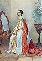 M.P.Kikina in court dress by P.Sokolov (1839, Tretyakov gallery).jpg