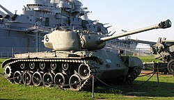 M26 Pershing tank at USS Alabama.jpg