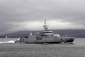 Rauma (M352), a Royal Norwegian Navy Alta class minesweeper.