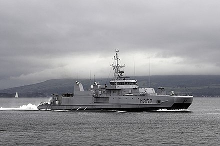 HNoMS Rauma (M352), an Alta class mine sweeper